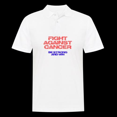 Fight against cancer - Männer Poloshirt