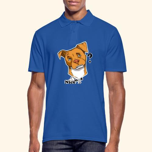 Nice Dogs pitbull 2 - Polo da uomo