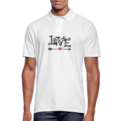 Love flêche - Polo Homme