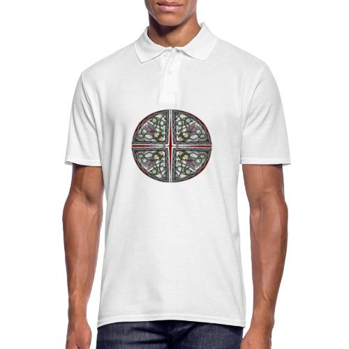 Archangel Michael Disc - Men's Polo Shirt