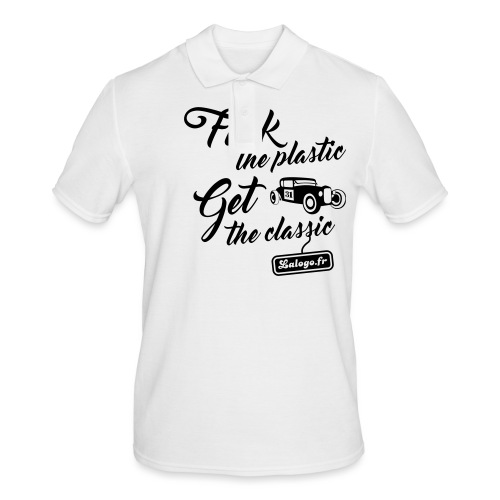 Fuck The Plastic - Get the Plastic - Polo Homme