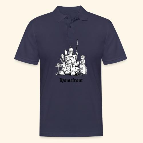Homefront Heimatfront Waffen Mama Muttersöhnchen - Männer Poloshirt