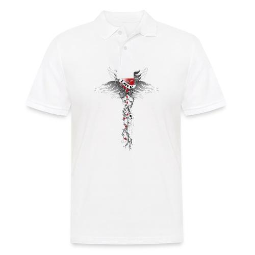 Love is a prison - Liebe ist ein Gefängnis - Männer Poloshirt