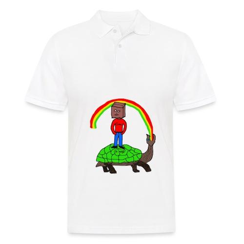 schildkröte Schildkröte Regenbogen - Männer Poloshirt