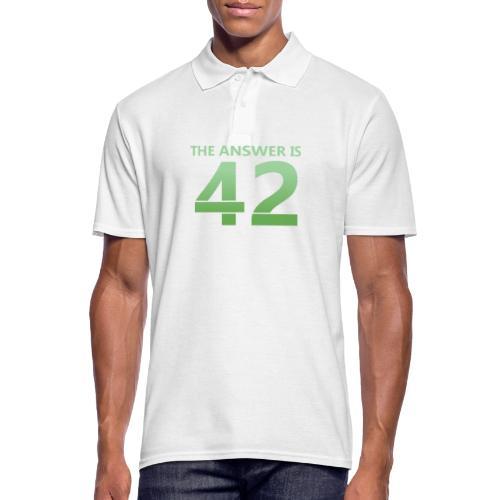 42 - Men's Polo Shirt