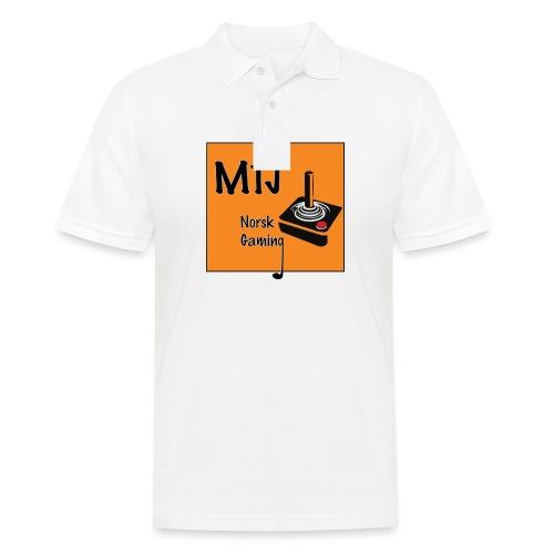 Mtj Logo - Poloskjorte for menn