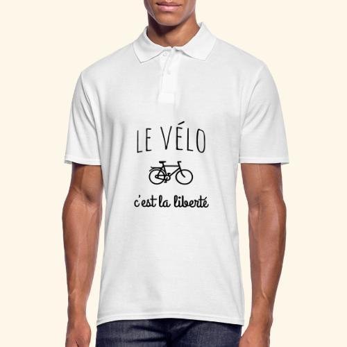 Le vélo c'est la liberté - Polo Homme