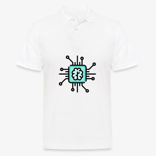 Brain chip - Men's Polo Shirt