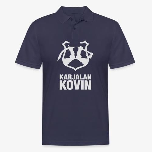 Karjalan Kovin Iso logo - Miesten pikeepaita
