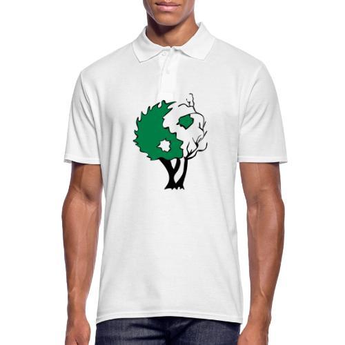 Yin Yang Arbre - Polo Homme