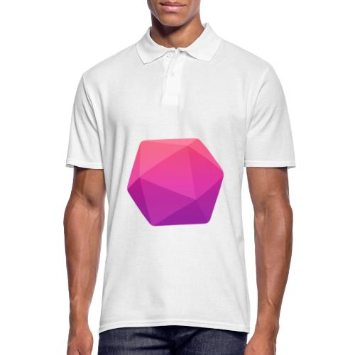 Pink D20 - D&D Dungeons and dragons dnd - Polo Homme