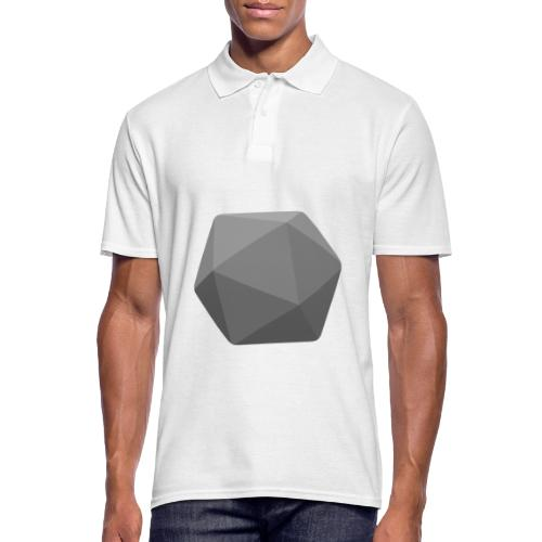 Grey d20 - D&D Dungeons and dragons dnd - Polo Homme