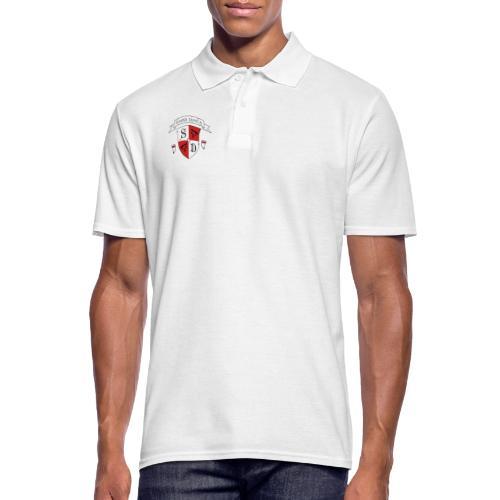 SD logo - hvide lænker - Herre poloshirt