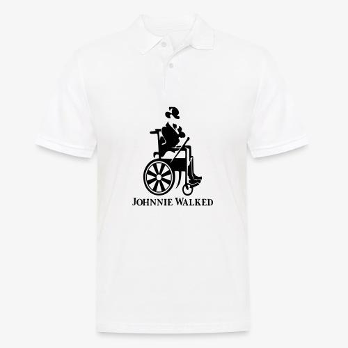 Voor rolstoel gebruikers die van Whisky houden - Mannen poloshirt