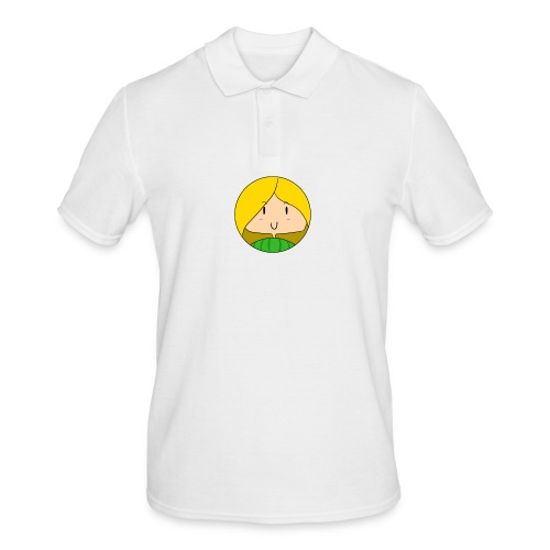 fille blonde - Polo Homme