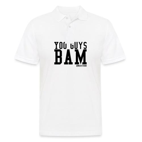 BAM! - Männer Poloshirt