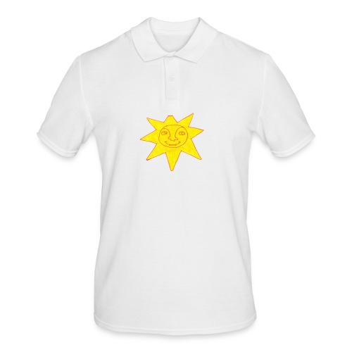 sonne - Männer Poloshirt