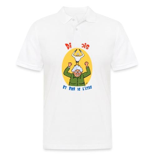 t shirt polete fier d'etre dieppois - Polo Homme