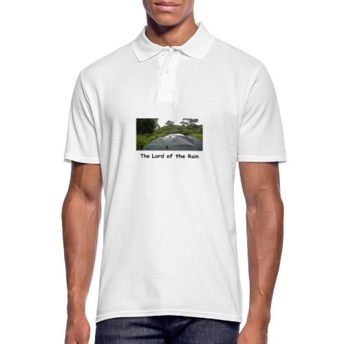 The Lord of the Rain - Neuseeland - Regenschirme - Männer Poloshirt