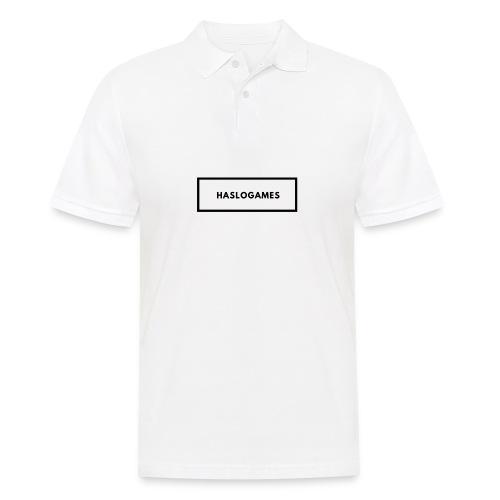 HasloGames White/Black edition! - Mannen poloshirt