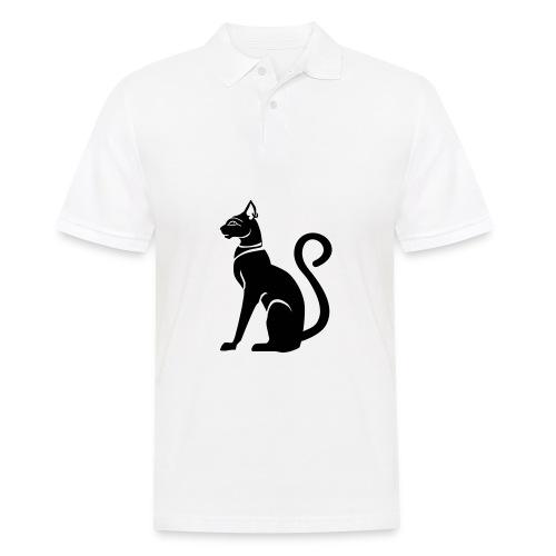 Bastet - Katzengöttin im alten Ägypten - Männer Poloshirt