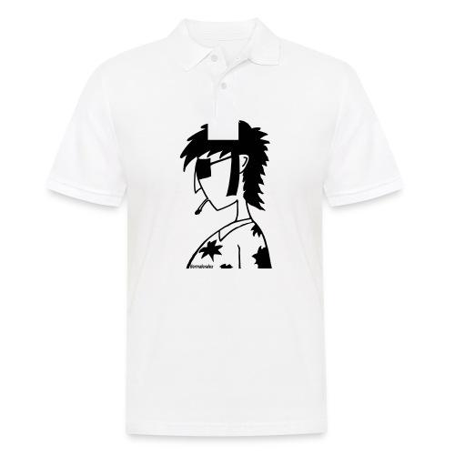 hippie - Männer Poloshirt