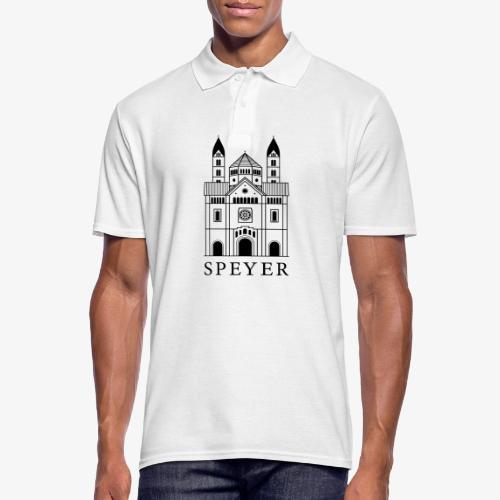 Speyer - Dom - Classic Font - Männer Poloshirt
