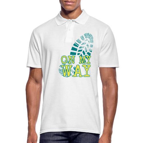 MY WAY - Männer Poloshirt