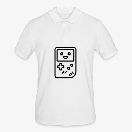 Smiling game console (black) - Men's Polo Shirt