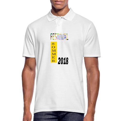 Festival Saison 2018 #1 - Männer Poloshirt