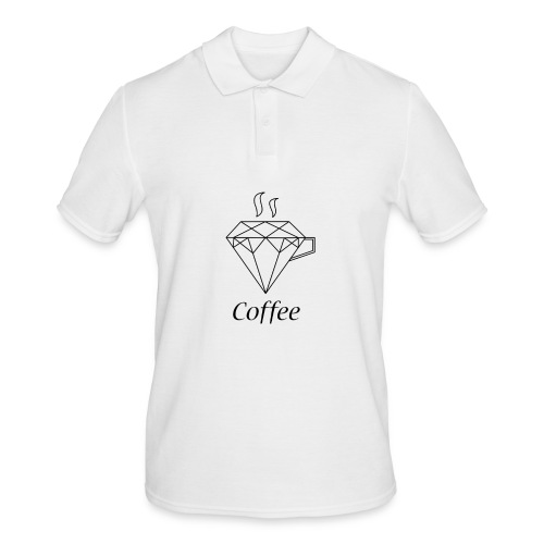 Coffee Diamant - Männer Poloshirt