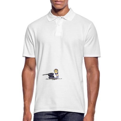 Kobra, Schlange - Männer Poloshirt