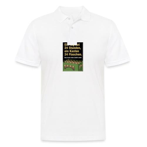 Bauern Sprüche - Männer Poloshirt
