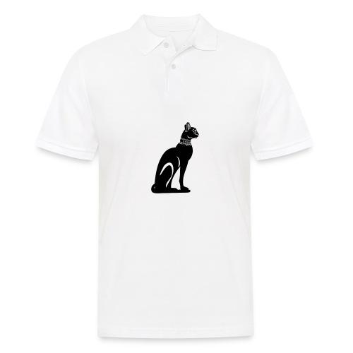 Altägyptische Katze BASTET - Männer Poloshirt