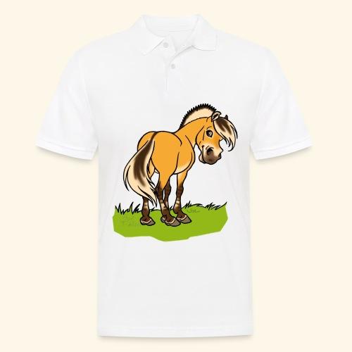 Freundliches Fjordpferd (Ohne Text) - Polo Homme