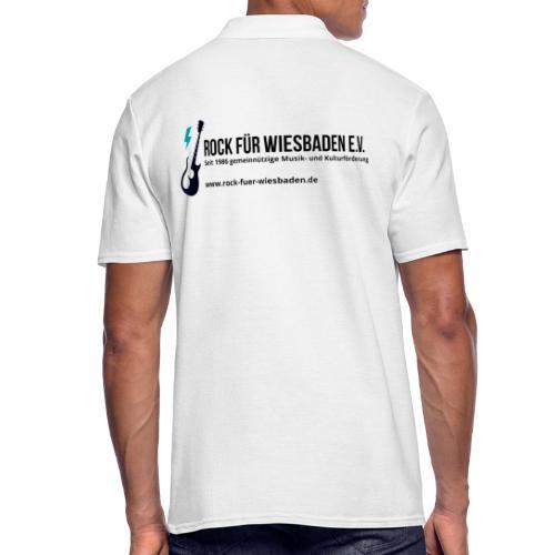 Offizielles Rock für Wiesbaden e.V. Design - Männer Poloshirt