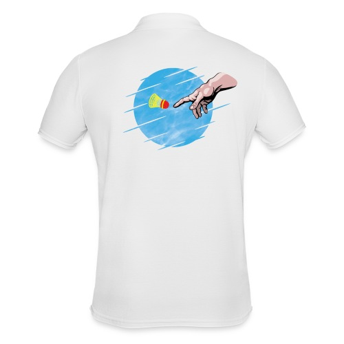 Crossminton, une divine création - Men's Polo Shirt