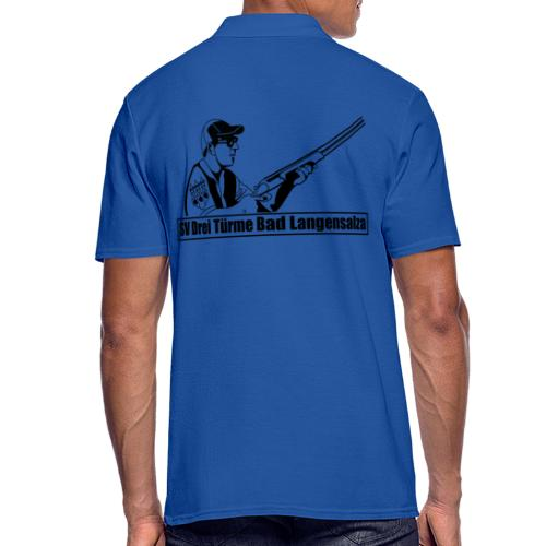 Logo auf dem Rücken - Männer Poloshirt