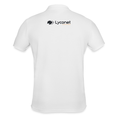 Lyconet White - Polo da uomo