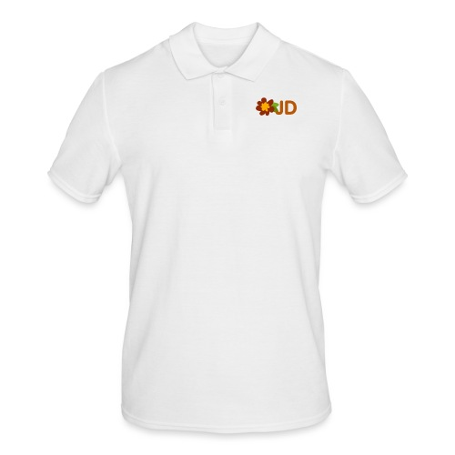 JD logo stor - Pikétröja herr
