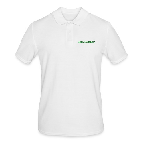 school of hardknocks ver 0 1 green - Herre poloshirt