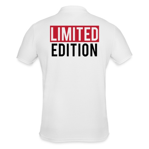 limited edition t shirt design text design - Polo da uomo