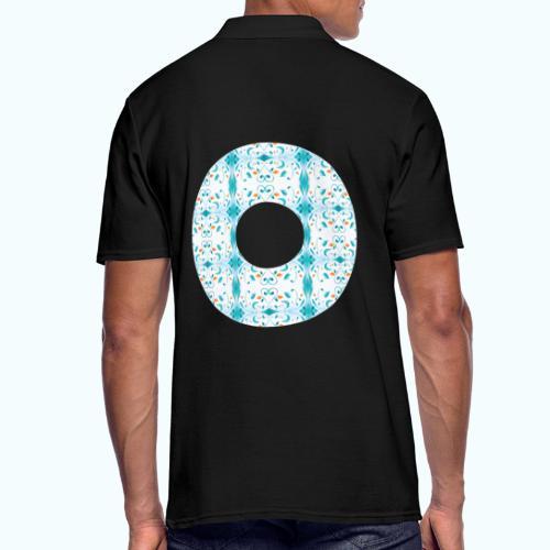 Hippie flowers donut - Men's Polo Shirt