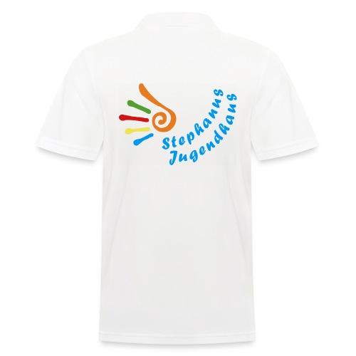 Stephanus Jugendhaus Logo 6 10 trans png - Männer Poloshirt