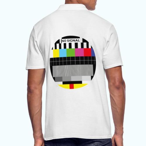 Vintage test pattern - Men's Polo Shirt