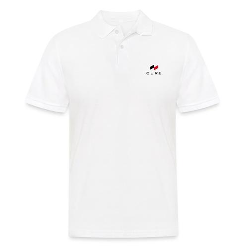Logo + Text (classic) - Männer Poloshirt