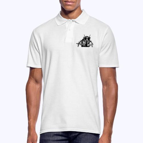 kafkaesk schwarz - Männer Poloshirt