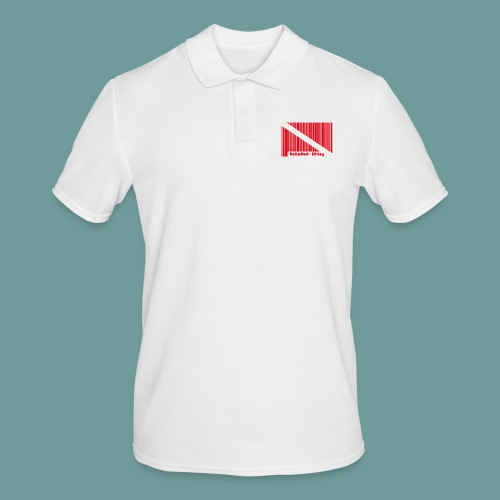 flag_barre_ud - Polo Homme