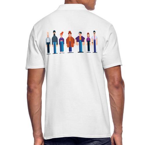 All Characters - Kollektion - Männer Poloshirt