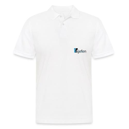 ITsjefen logo - Poloskjorte for menn